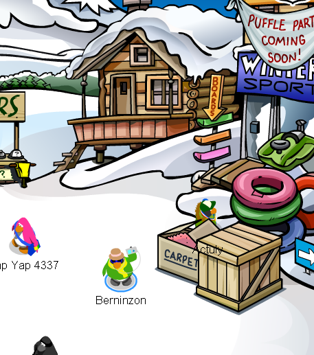 puffle-party-ski-village